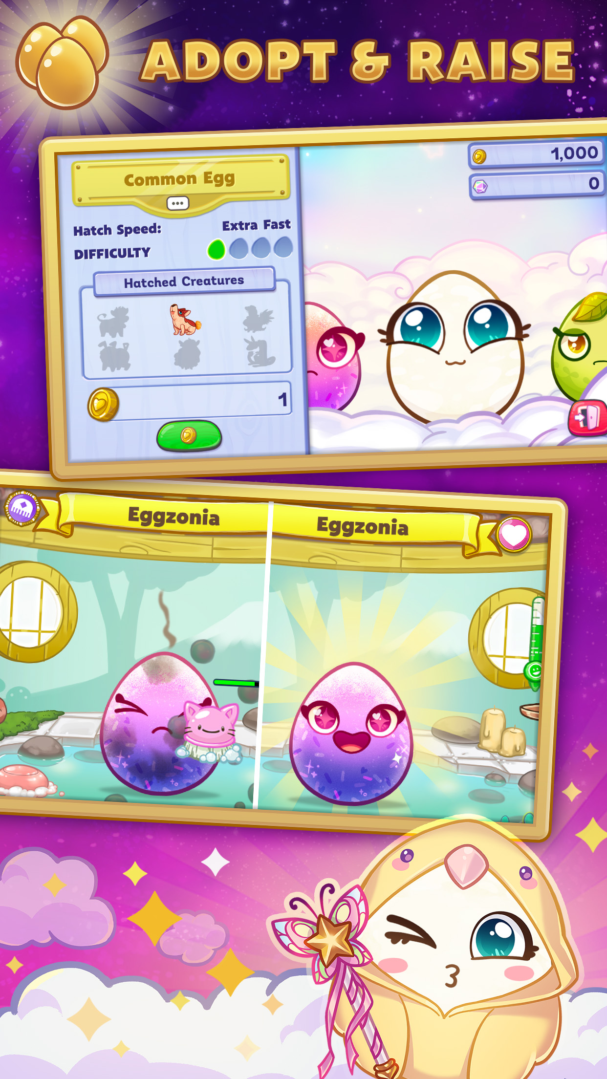 Egg! The Pet Game - Adopt and Raise